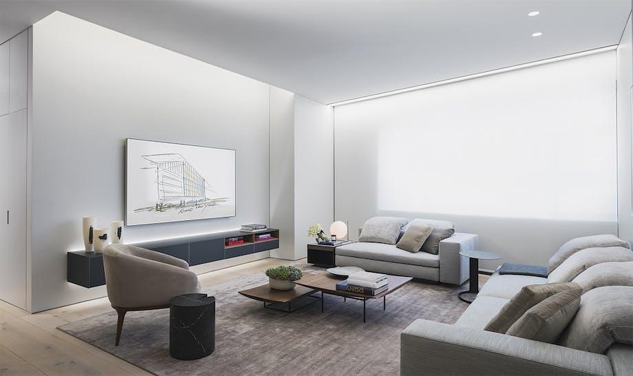 boliger lejlighed new york stue sofa