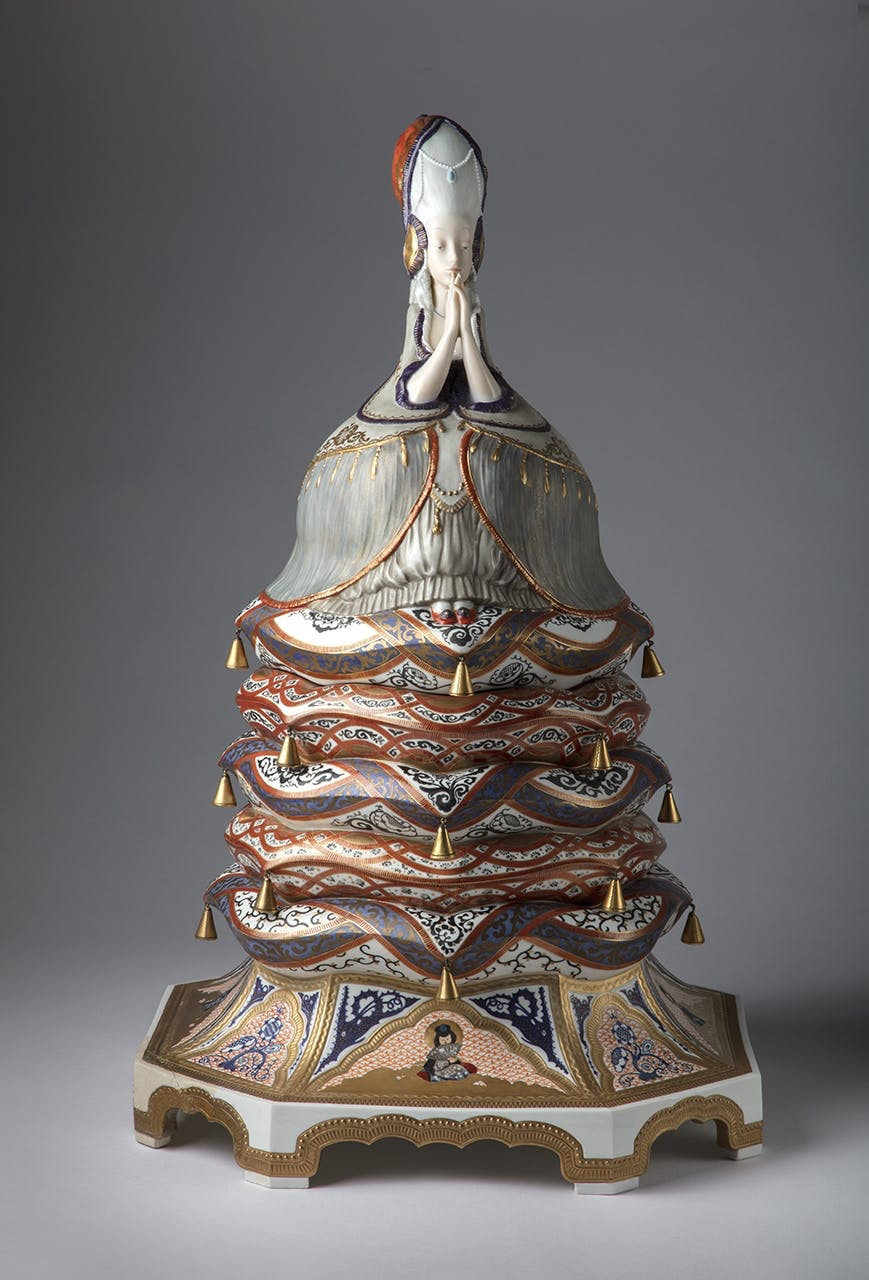 keramik ler design materiale figur pynt kunst