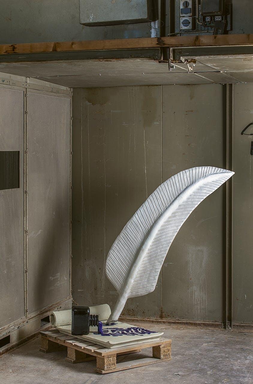 keramik ler design materiale fjer kunst