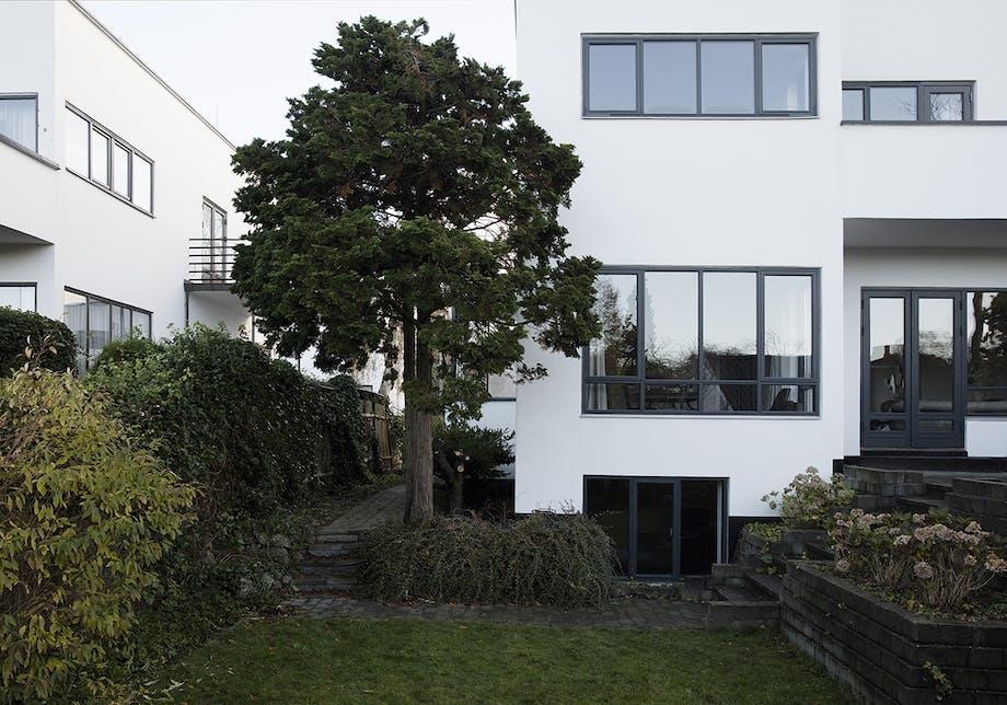 funkis hus frederiksberg indretning facade