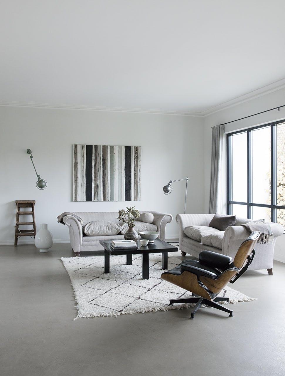 funkis hus frederiksberg indretning stue sofa