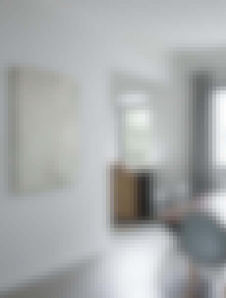 funkis hus frederiksberg indretning spisebord spisestue bord stol