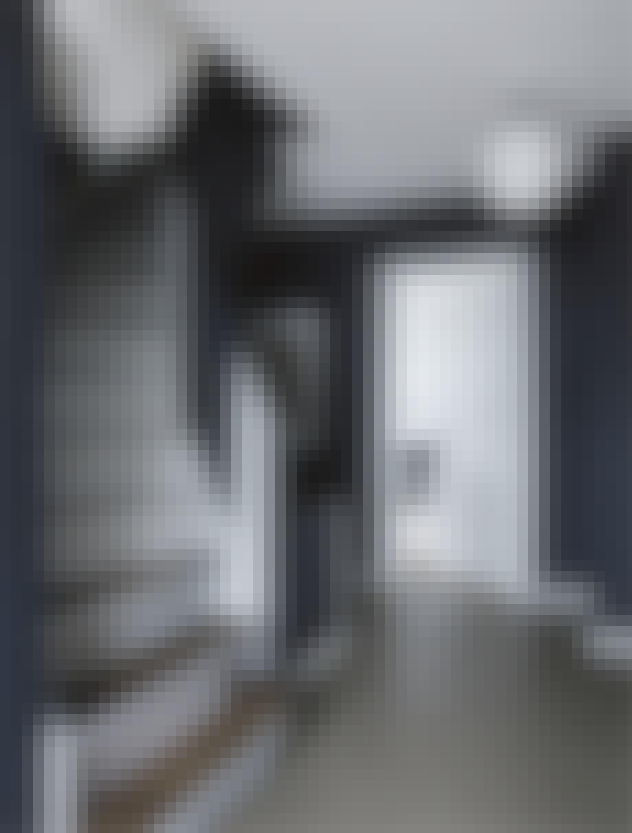 funkis hus frederiksberg indretning trappe entre hall