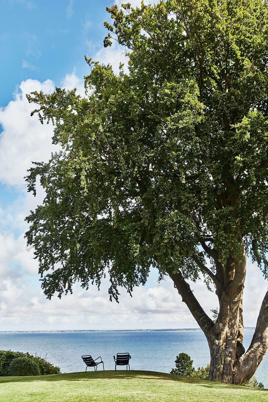 have udsigt øresund luxembourg stole havudsigt træ