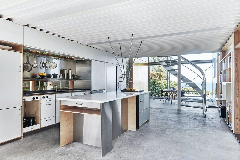 køkken køkkenø vindeltrappe ole palsby