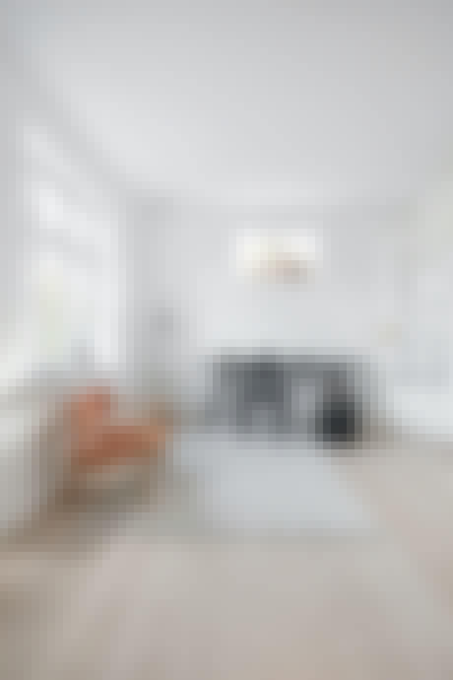 kontor skrivebord hay arne jacobsen standerlampe tæppe massimo