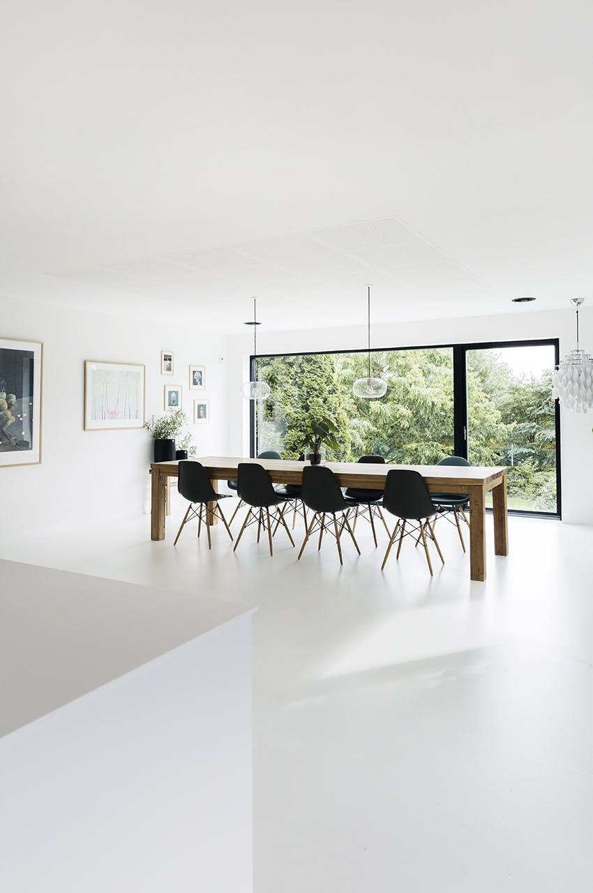 parcelhus renovering tips ombygning spisestue spisebord stol