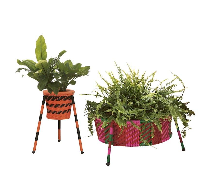 lounge møbler udendørsmøbler potte plante blomster