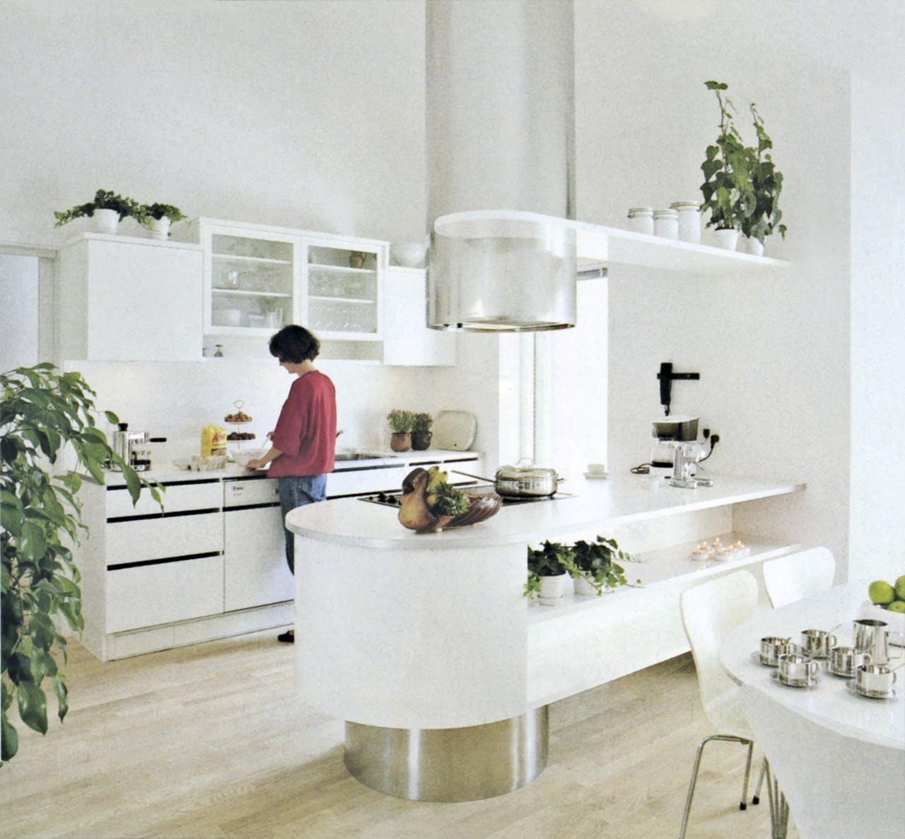 køkken køkkenet historie udvikling 1990 90'erne