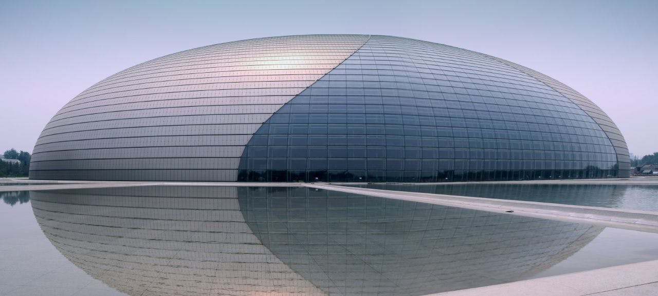 The National Center for the Performings Arts, Kina