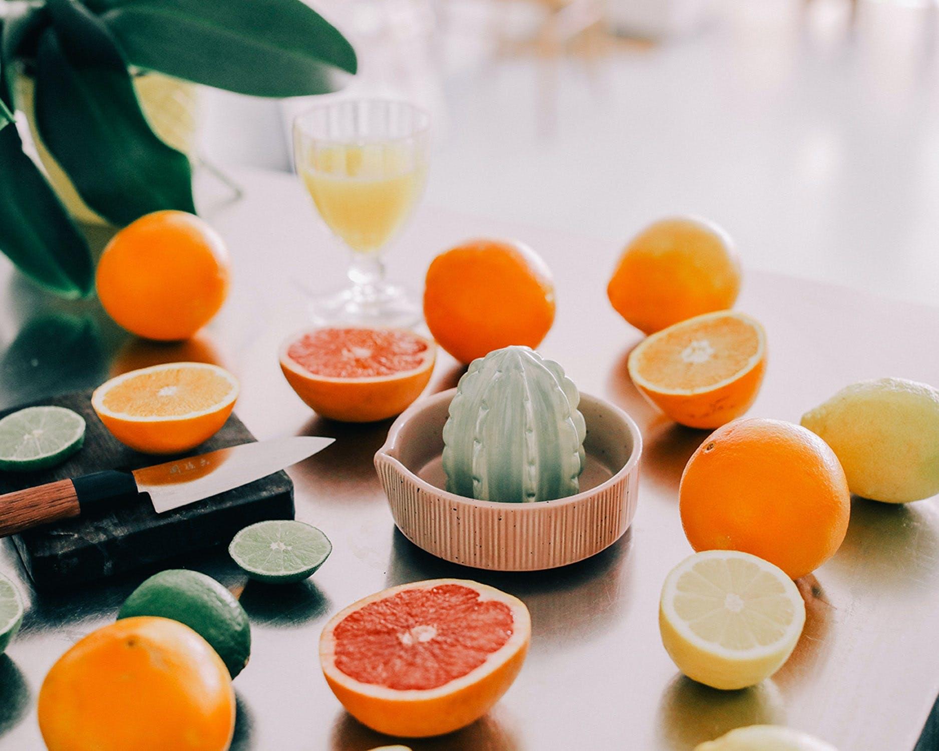 Finurlig citruspresser