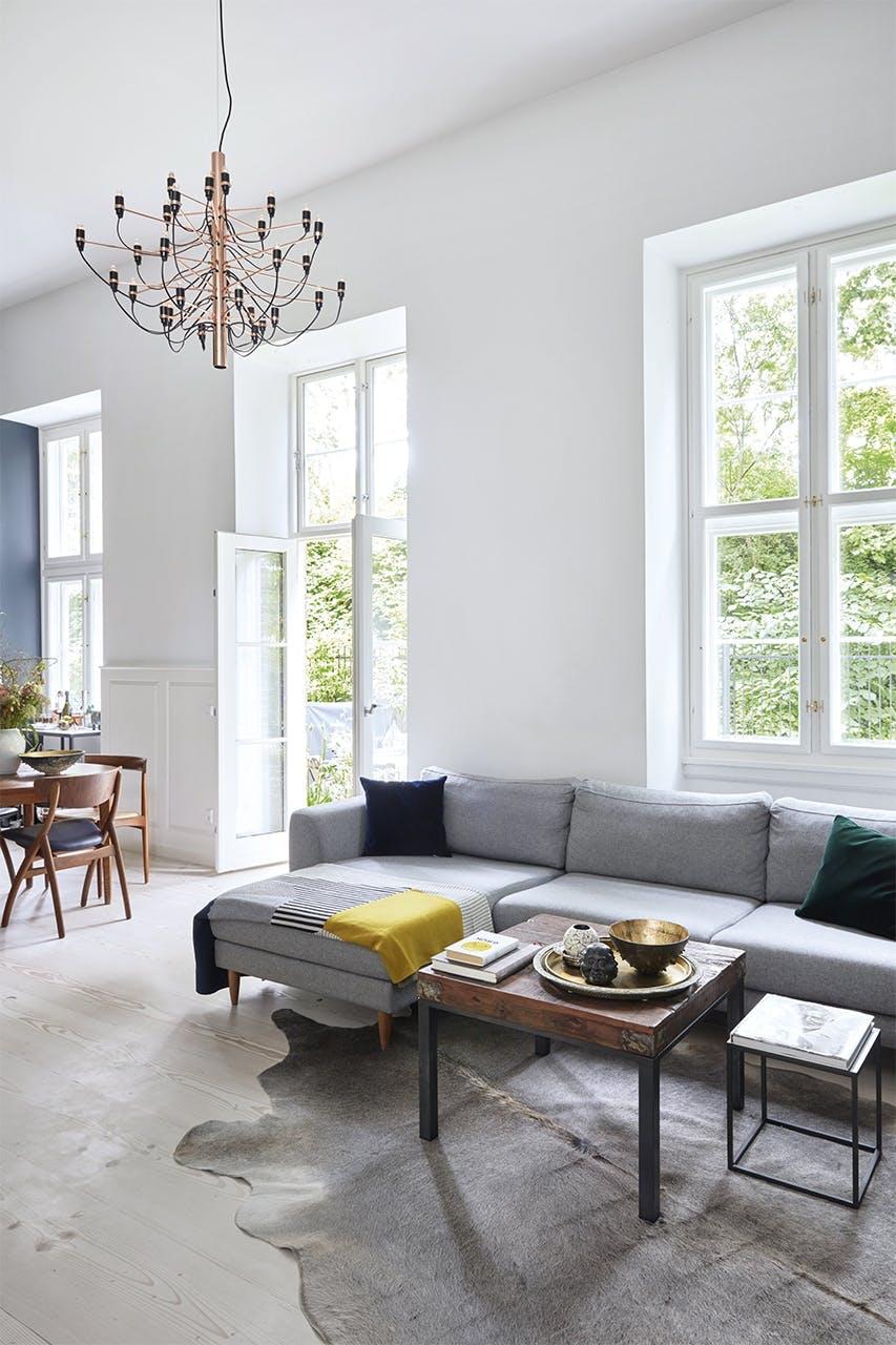 køkken bolig christianshavn indretning stue sofa