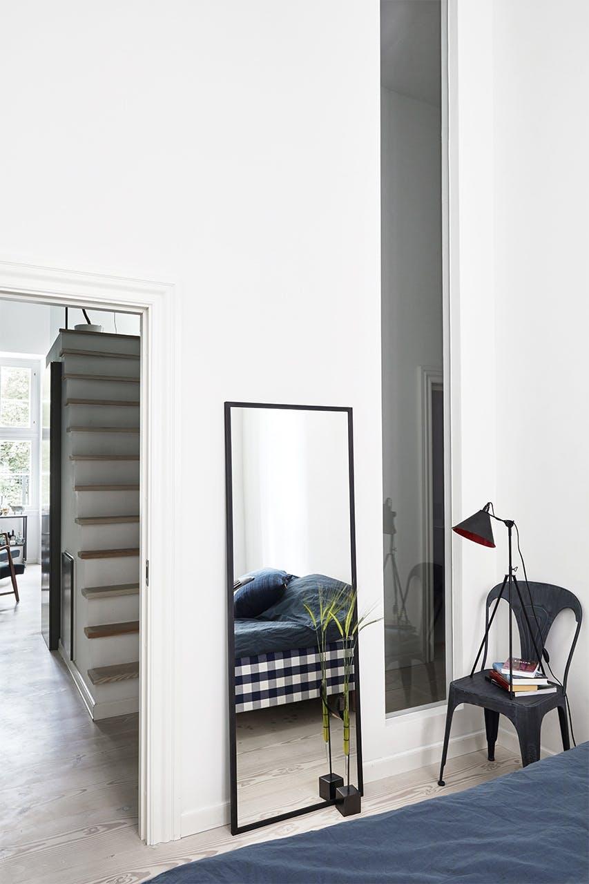 køkken bolig christianshavn indretning soveværelse spejl
