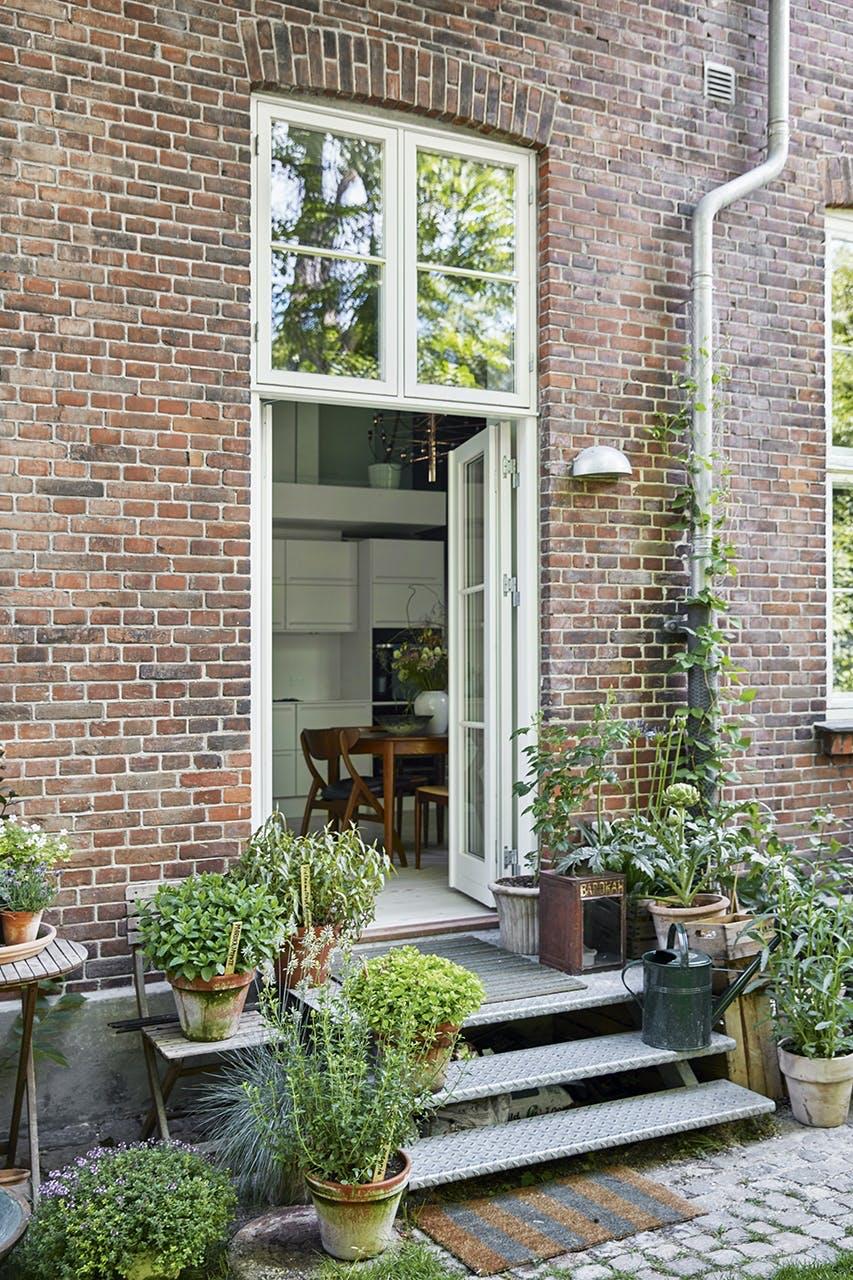køkken bolig christianshavn indretning indgang dør