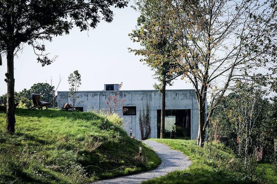 betonhus thurø svendborg natur