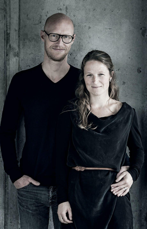 Mette og Morten Thurø betonhus