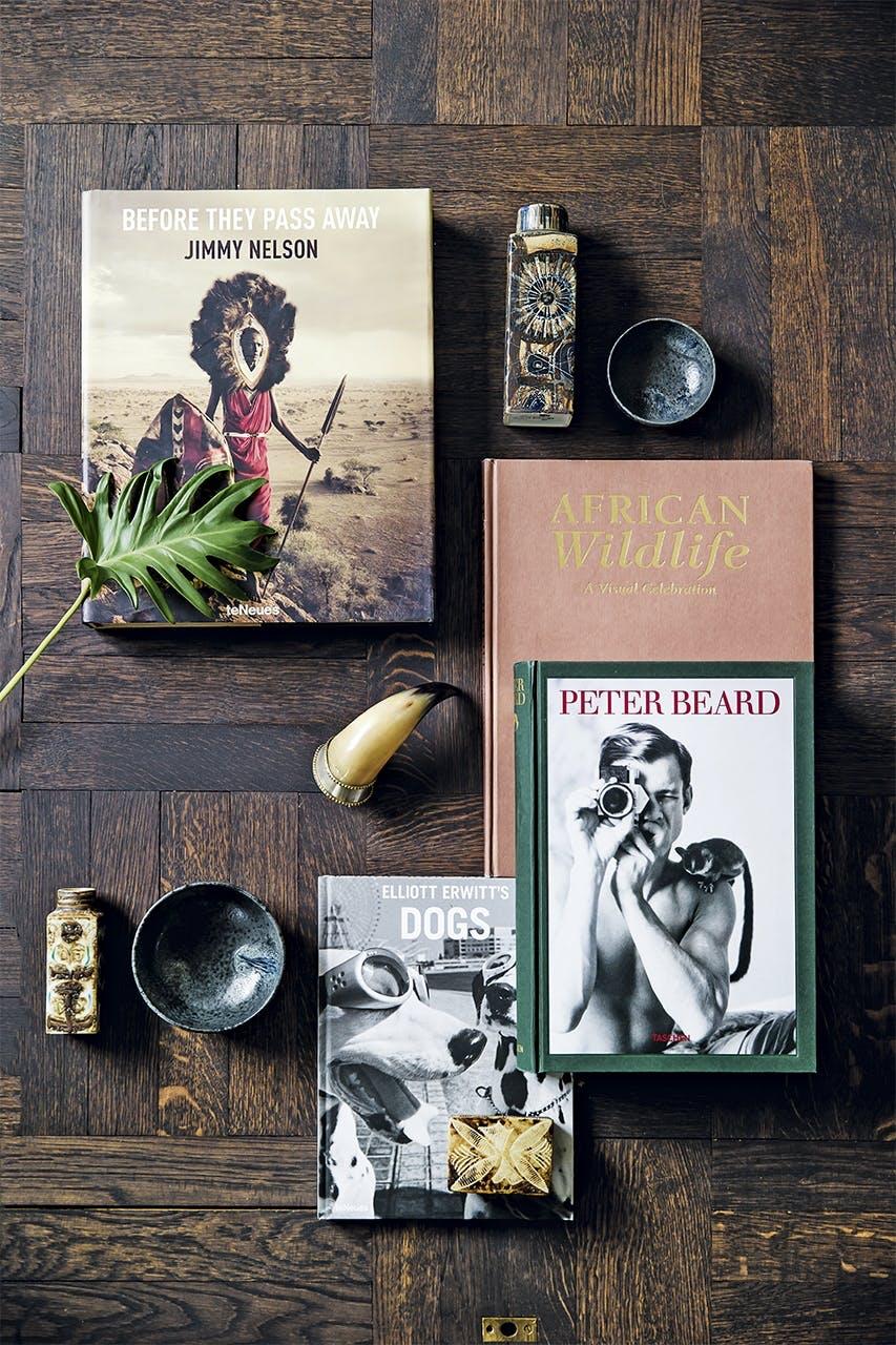 bolig indretning klampenborg villa bungalow bøger pynt