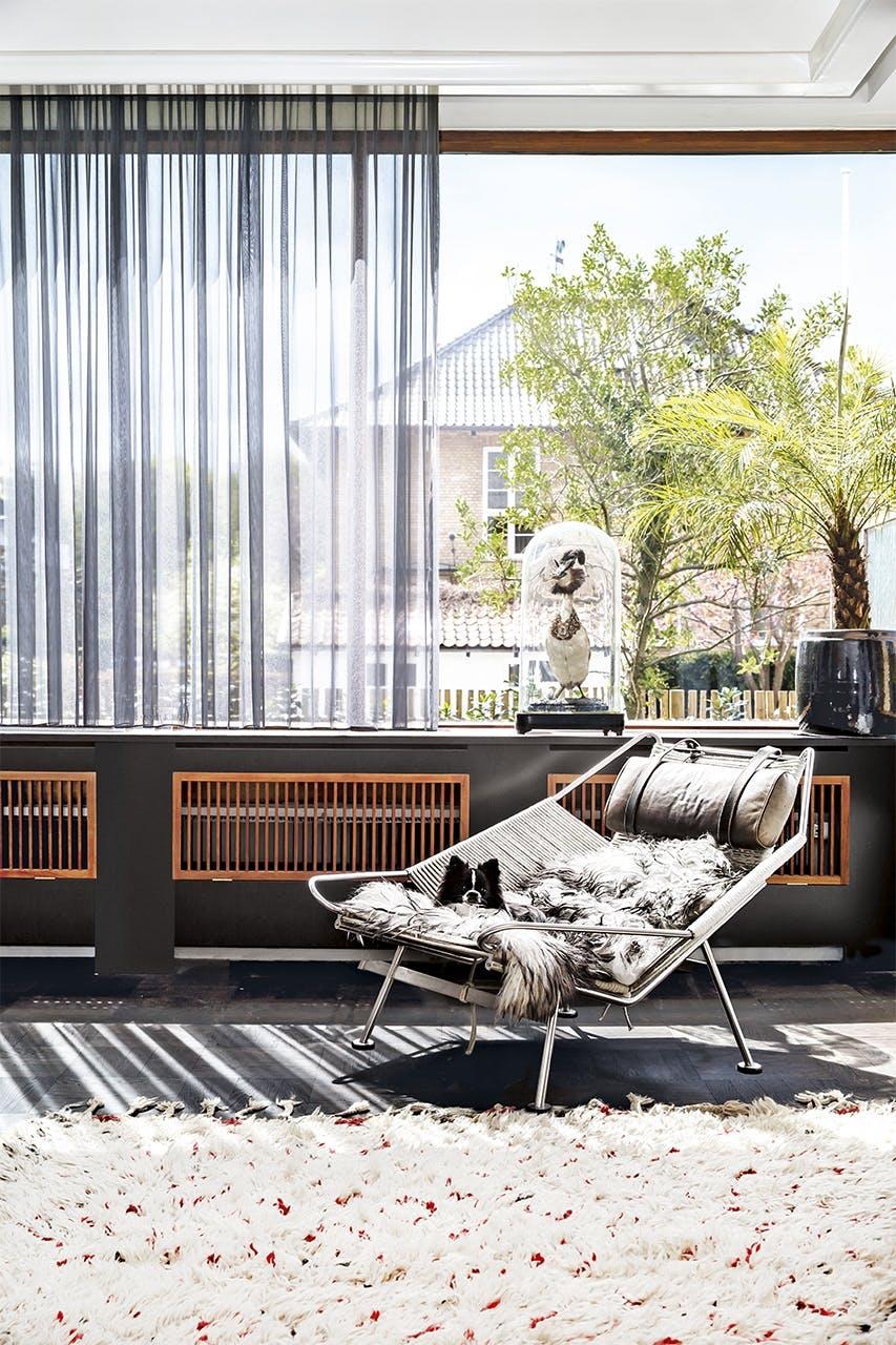 bolig indretning klampenborg villa bungalow stue stol