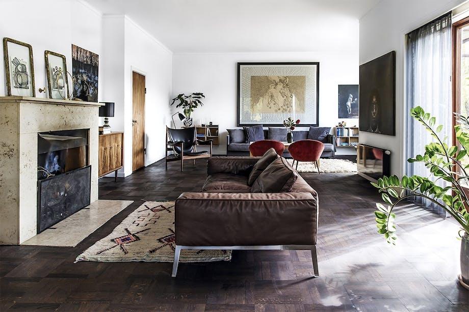 bolig indretning klampenborg villa bungalow stue