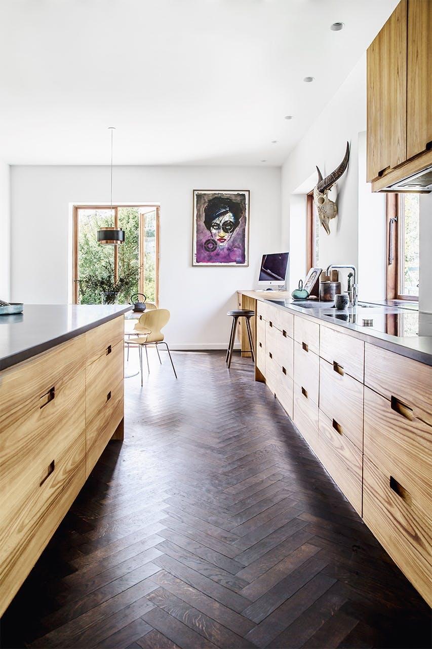 bolig indretning klampenborg villa bungalow køkken