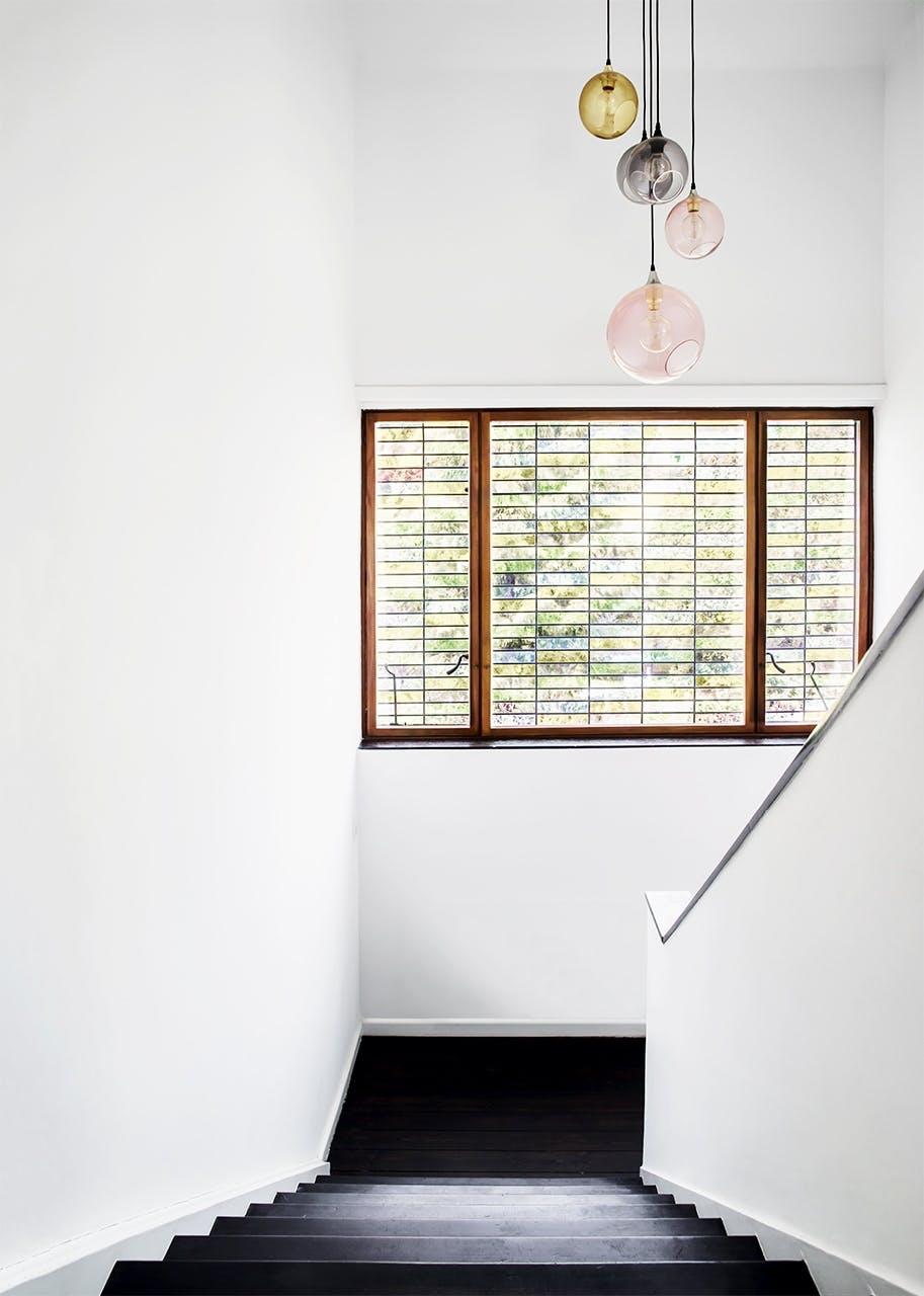 bolig indretning klampenborg villa bungalow trappe