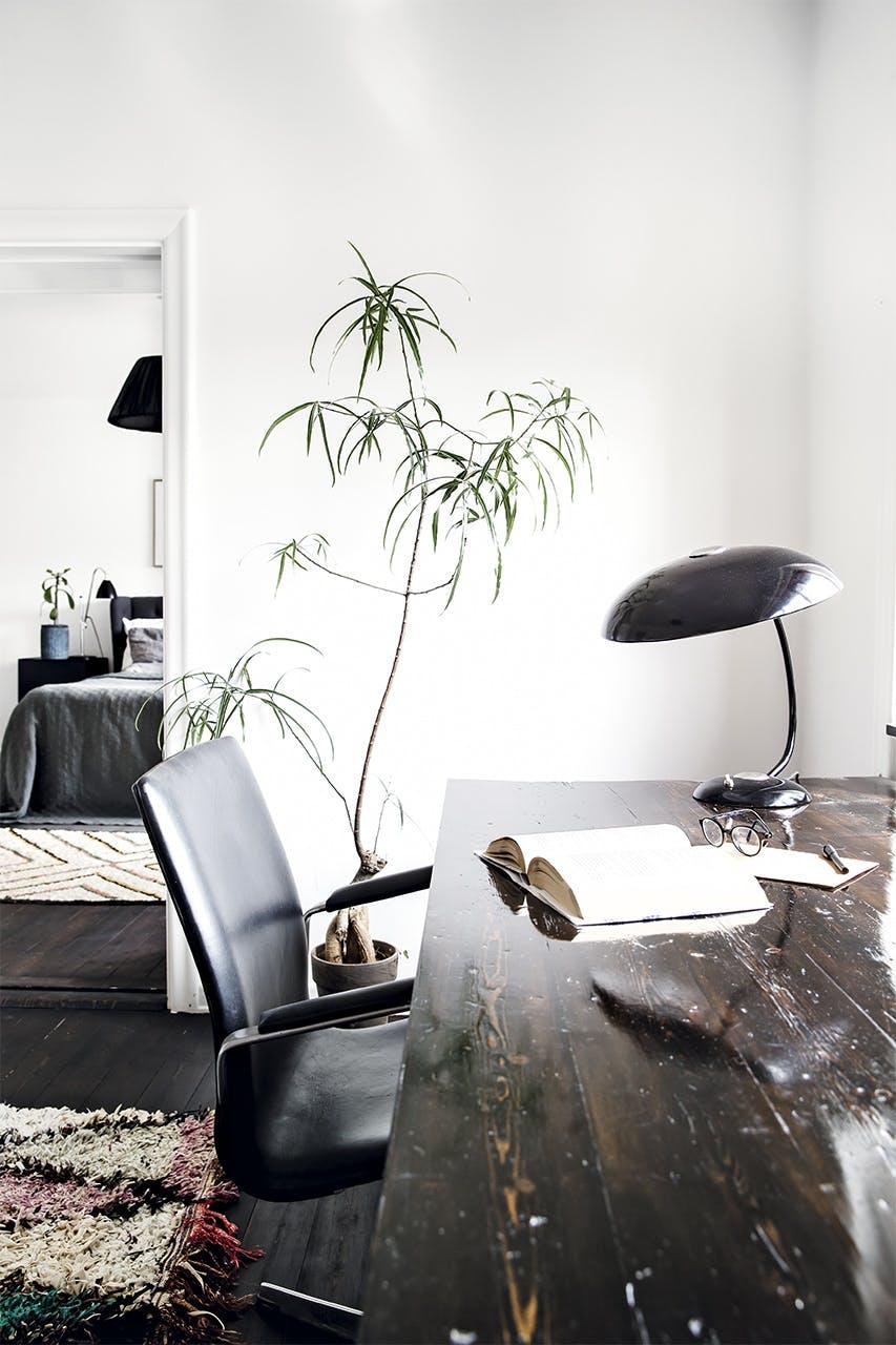 bolig indretning klampenborg villa bungalow kontor