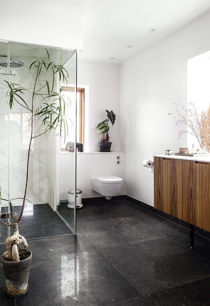 bolig indretning klampenborg villa bungalow badeværelse bad