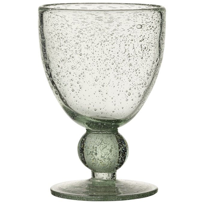 Håndlavet hvidvinsglas