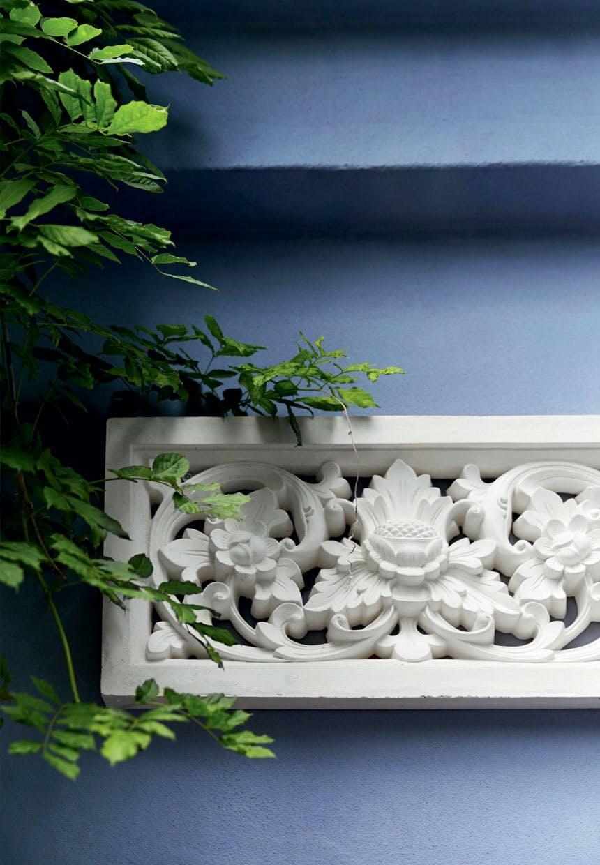 Smukt relief fra Bali