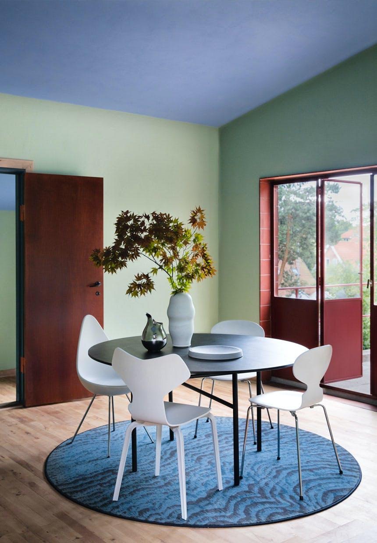 Samling af spisebordsstole fra Fritz Hansen