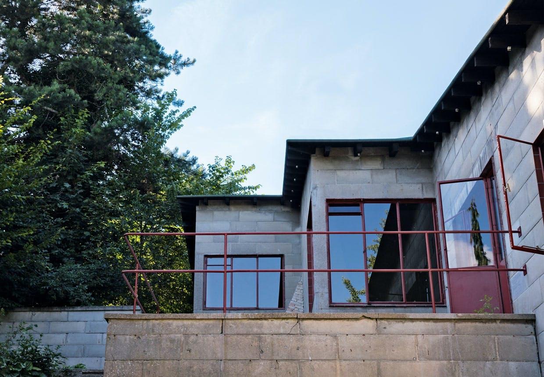 Facaden af Poul Henningsens hus