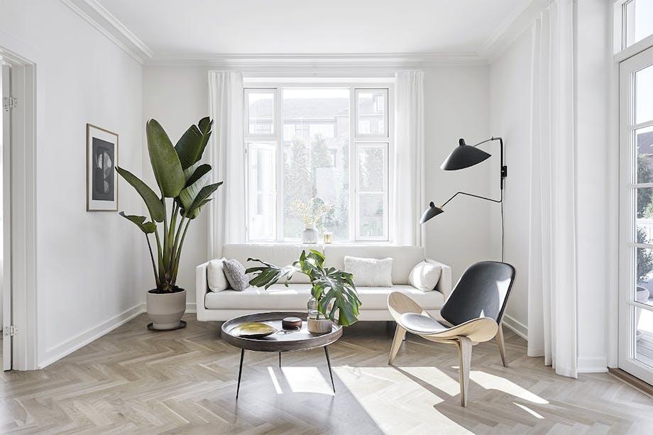 villa hellerup indretning stue