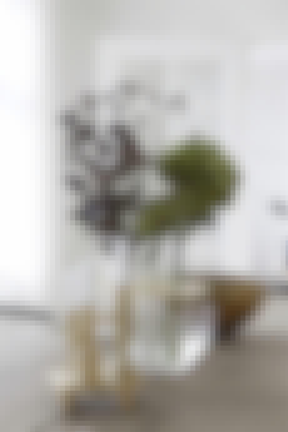 villa hellerup indretning stearinlys spisebord