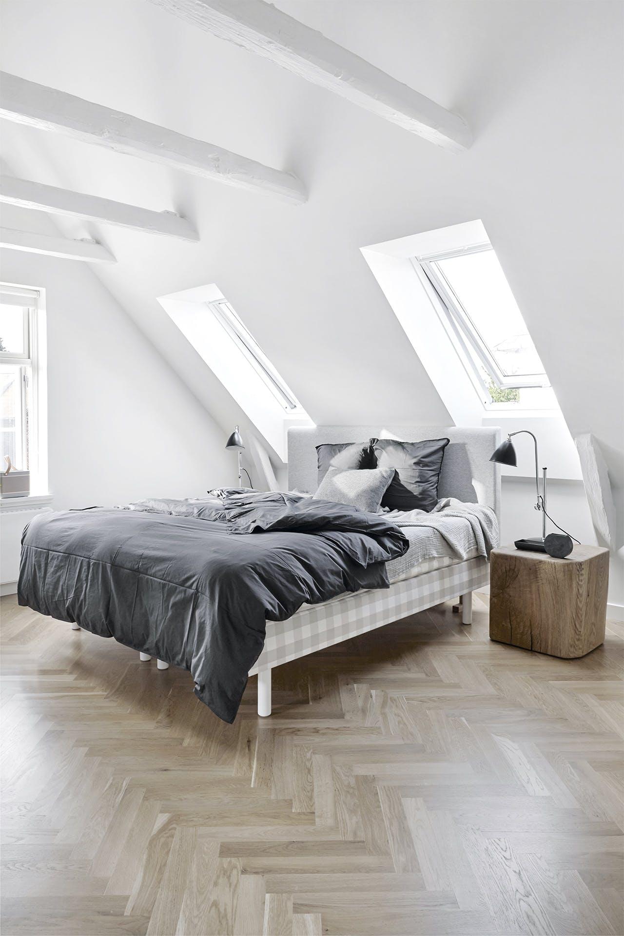villa hellerup indretning soveværelse