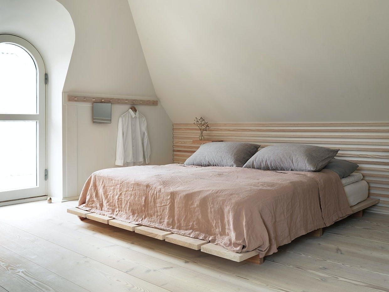 soveværelse seng sengetøj georg jensen liberty