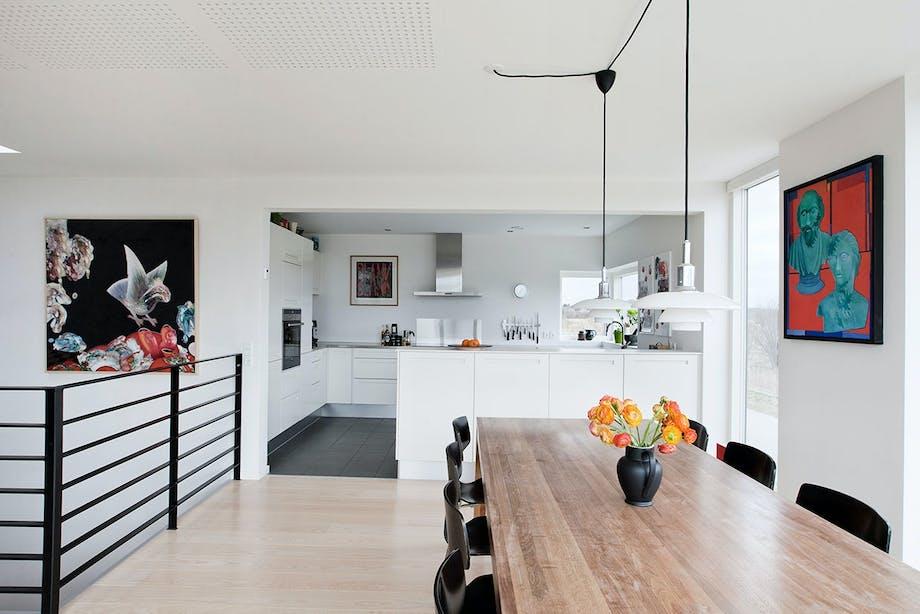 stue køkken spisebordslampe spisebord spisebordsstole