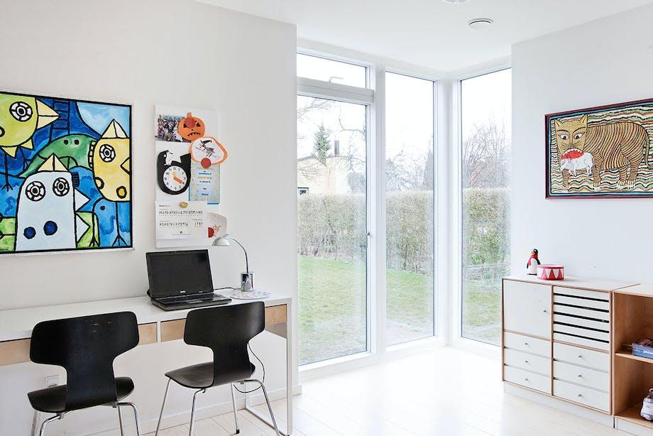 kontor vinduer skrivebord skrivebordsstole