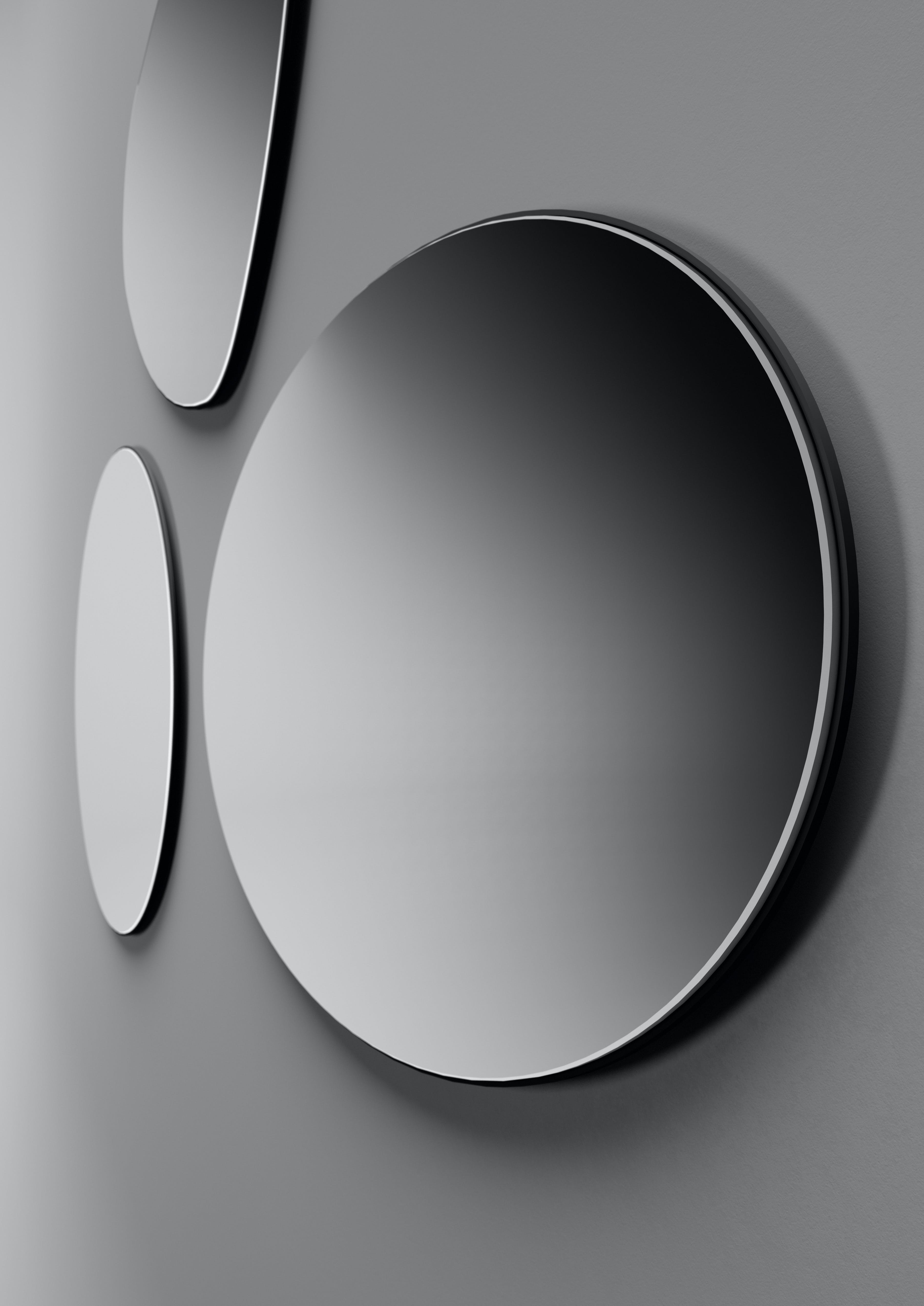 sorte spejle runde piero lissoni for boffi