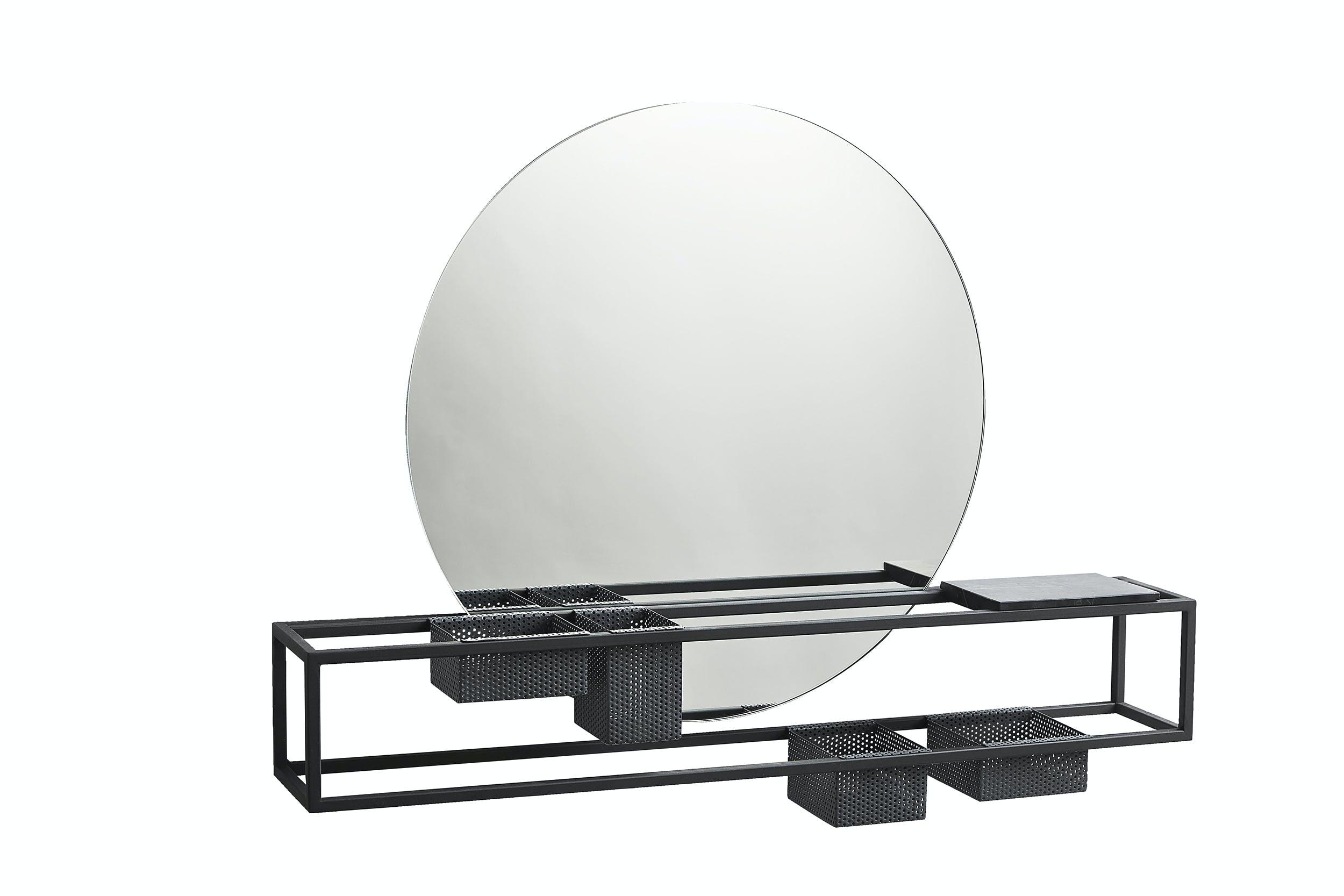 badeværelse spejl med opbevaring