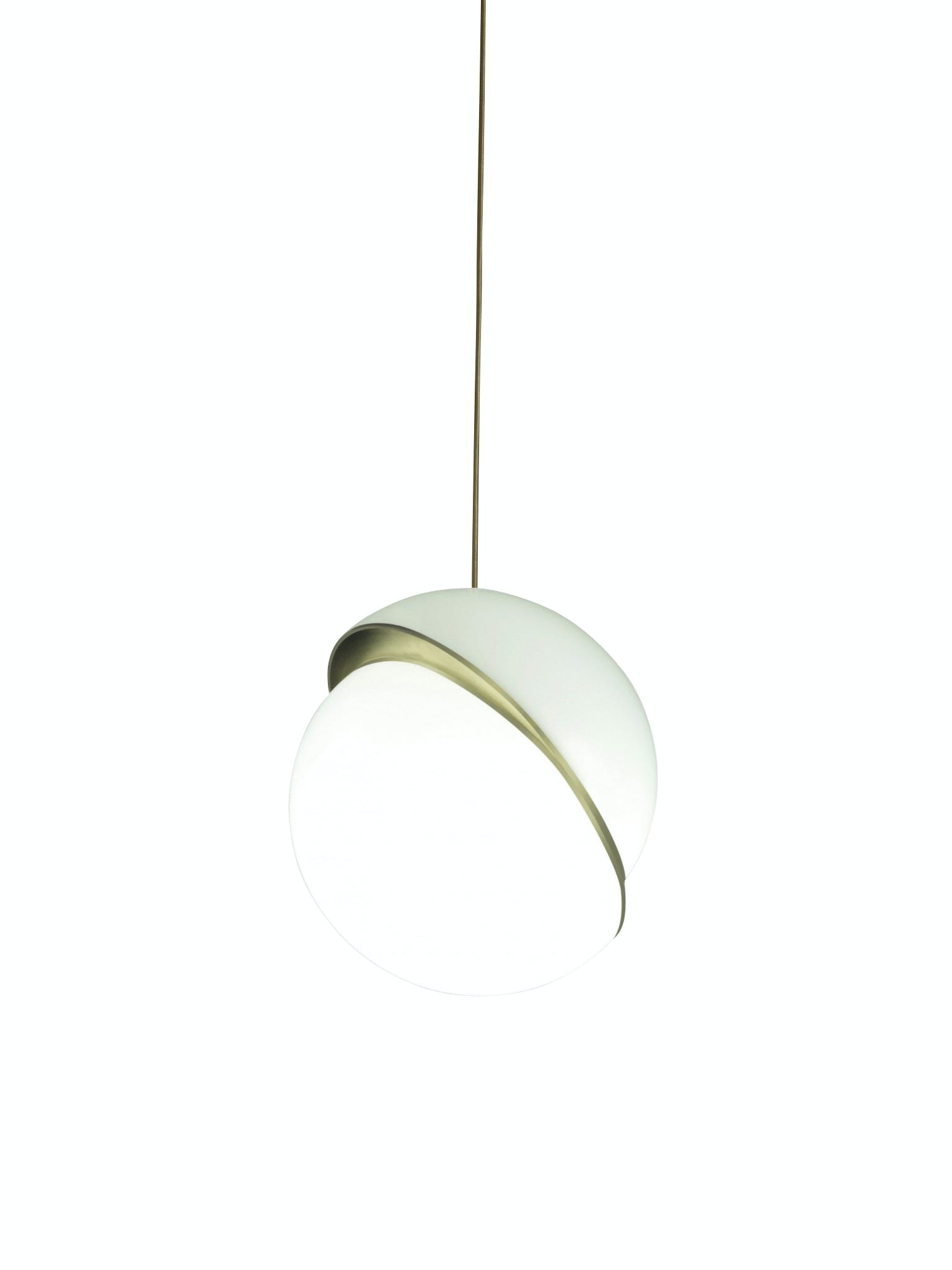 mini crescent light lampe fra lee broom