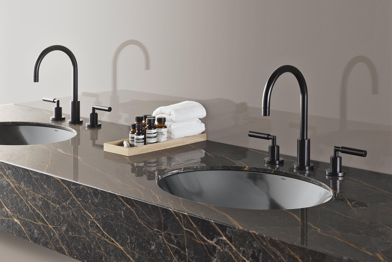 alape håndvask metallic dark iron badeværelse