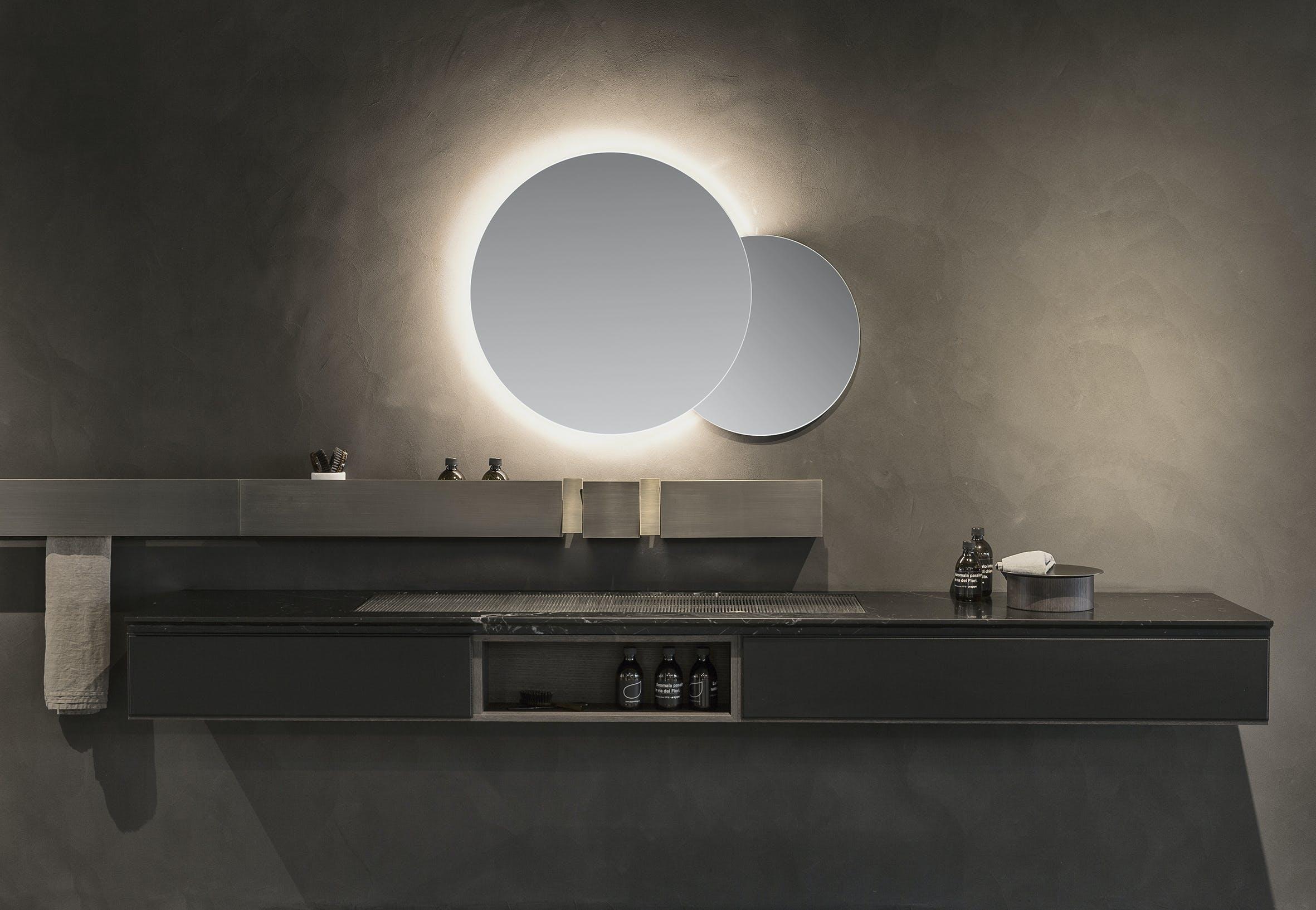 agape lampe med Eclissi-spejl