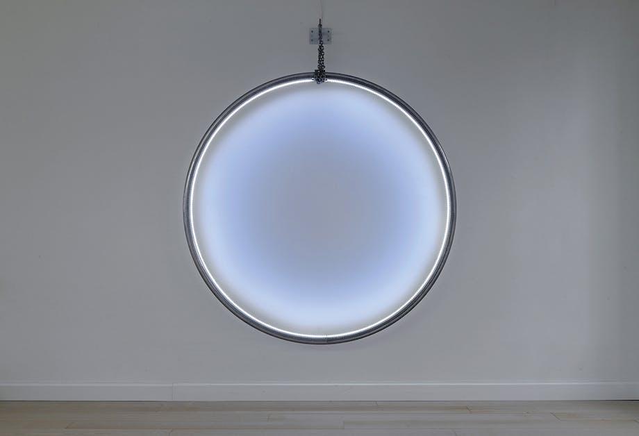 lyskunst på galleri DGV i svendborg