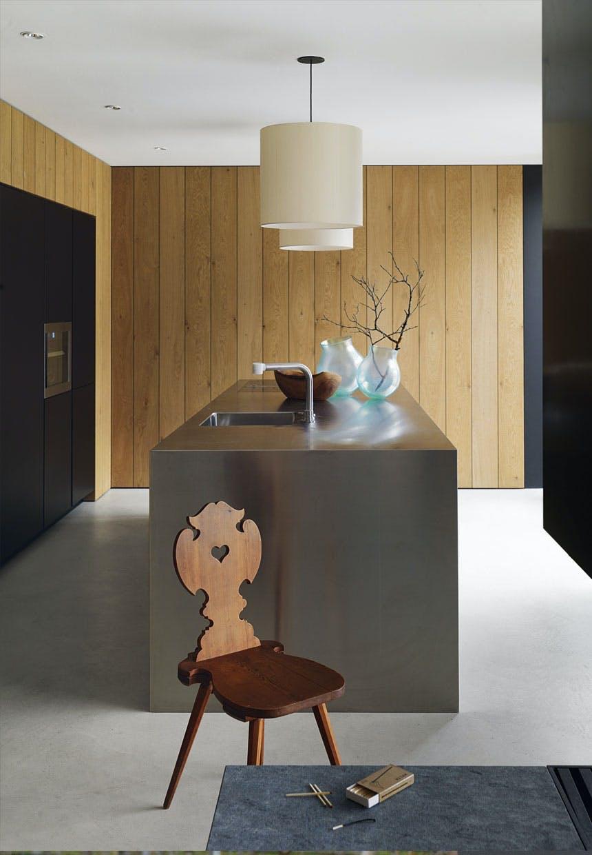 Køkkeneø af rustfrit stål