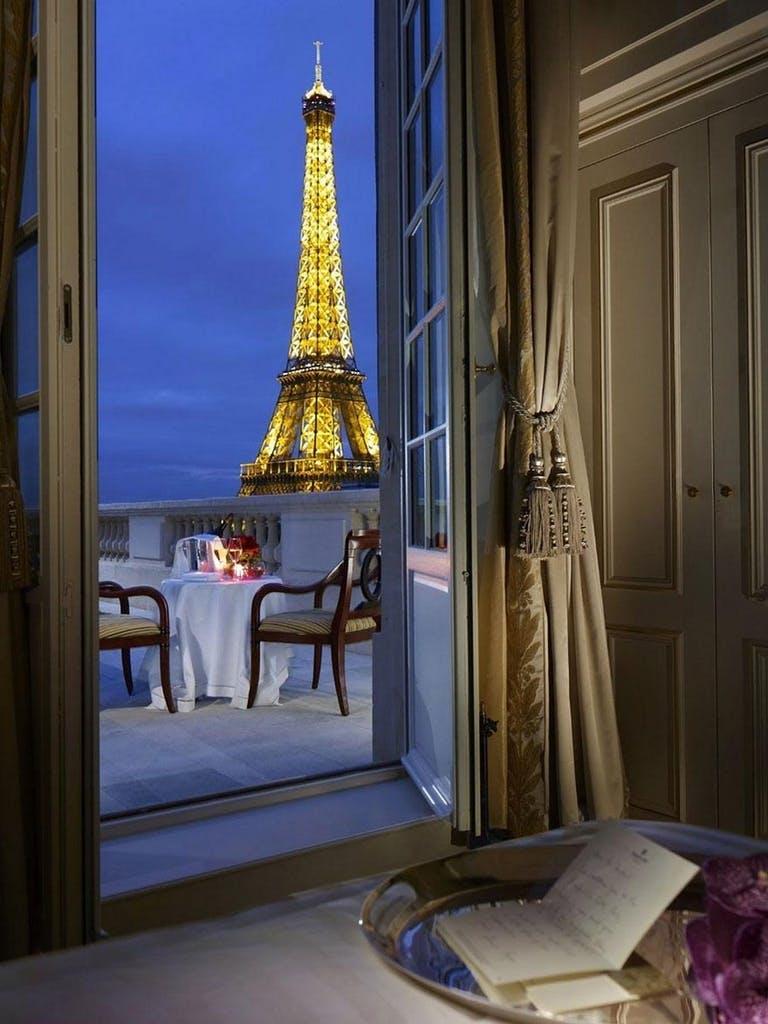 Romantik i hjertet af Paris