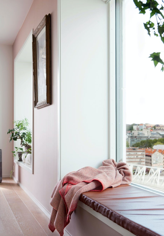 Siddeplads med udsigt over Oslo