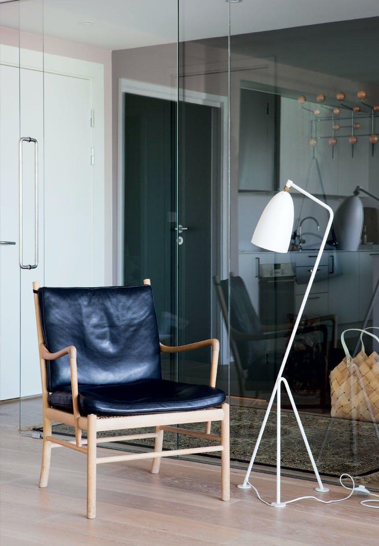 Stue med modernistisk look