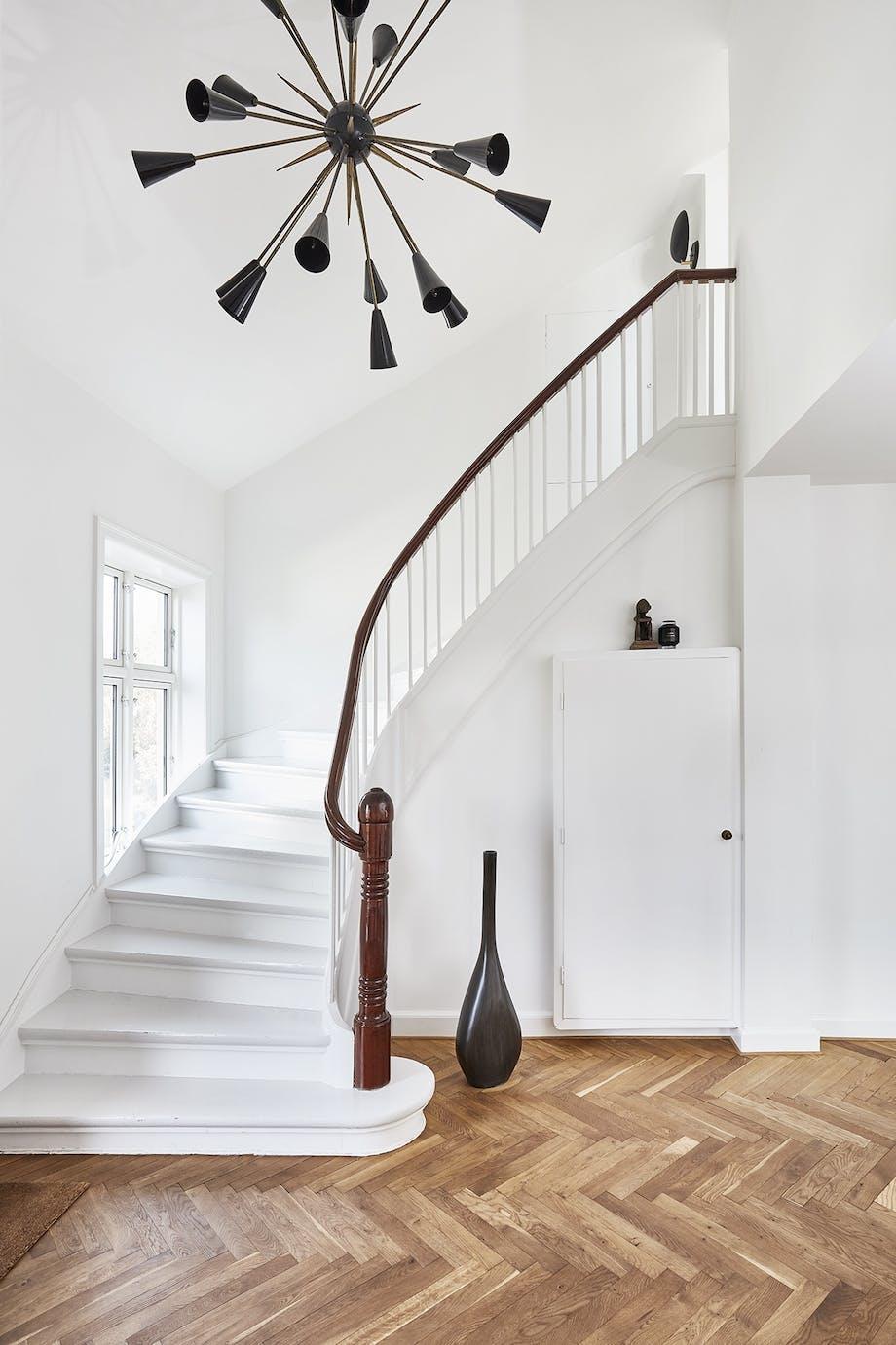 villa herskabsvilla indretning bolig hall entre