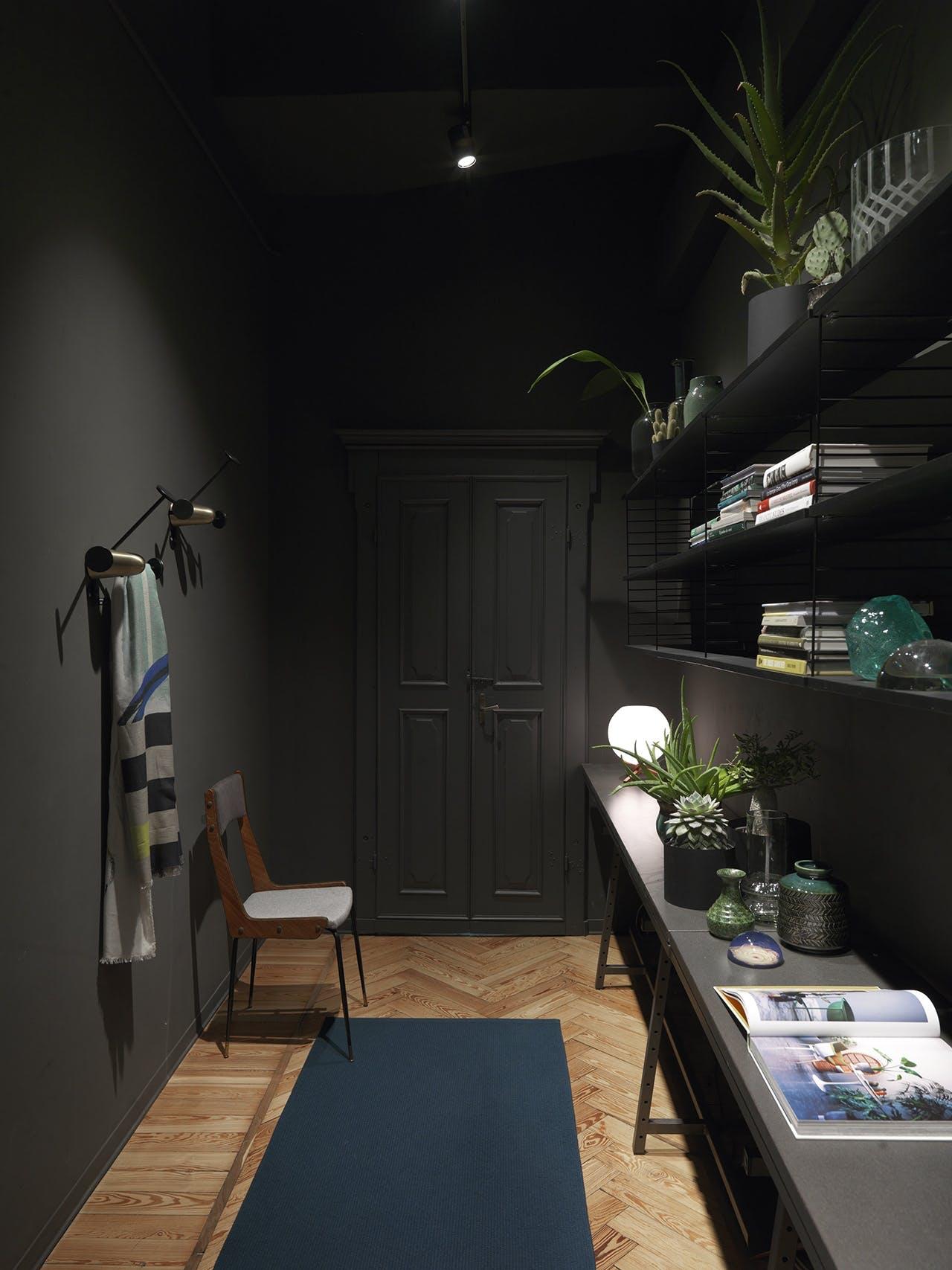 bolig indretning dansk design sort entre