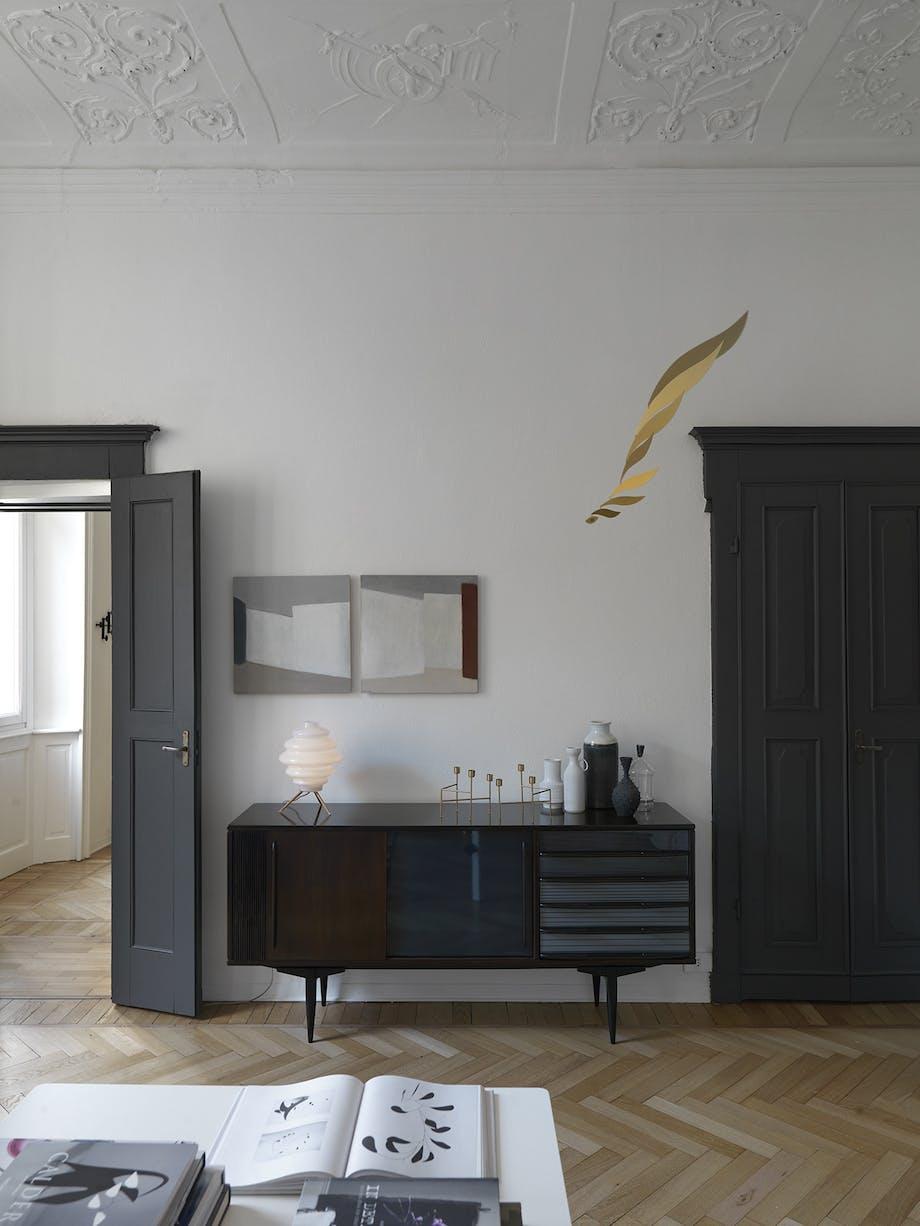 bolig indretning dansk design stue skænk